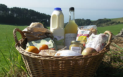 Hampers and Places to Eat