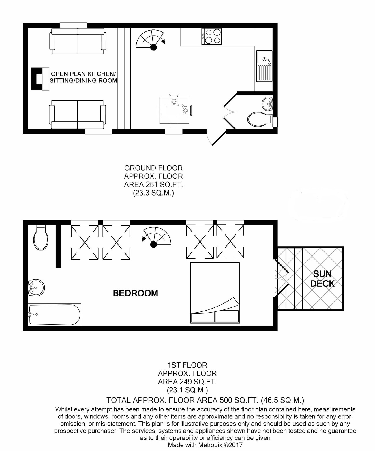Mews Cottage Floor Plan