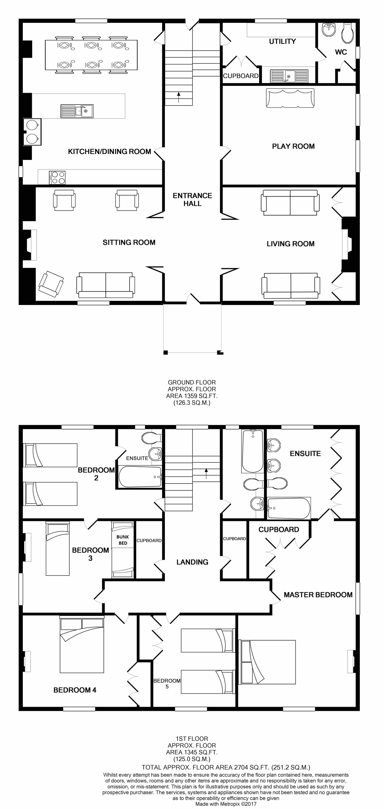 Lambside Cottage Floor Plan